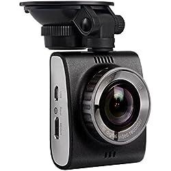 Ausdom Dashcam, Caméra de Voiture 1296P Enregistreur vidéo Full HD DVR avec Enregistrement de Boucle pour Voitures