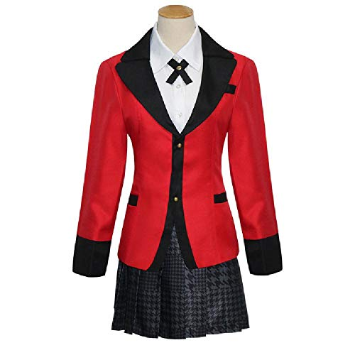 Mädchen Des Buch Kostüm Lebens - DXYQT Anime Cosplay Kostüm High School Uniform Halloween Party Welt Buch Tag Kostüme für Mädchen Frauen Set,M