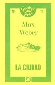 La ciudad par Max Weber