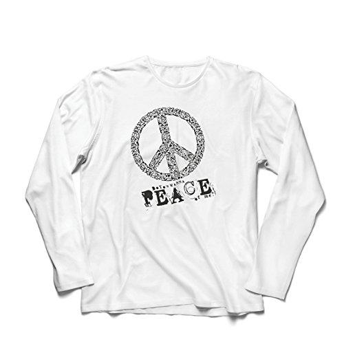 ren t Shirts Willst Du Stück von Mir - Frieden Slogan, 60er 70er Hippie - Hippie Festivals, Hipster Swag (Small Weiß Mehrfarben) (70er Jahre Kostüme Für Paare)