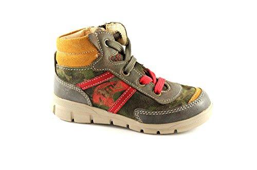 PRIMIGI 21304 30/35 mimetico scarpe bambino sneakers mid zip Multicolore