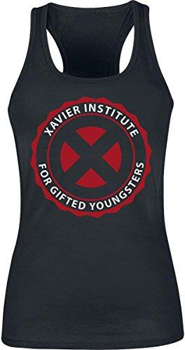X-Men Xavier Institute Top donna nero XL