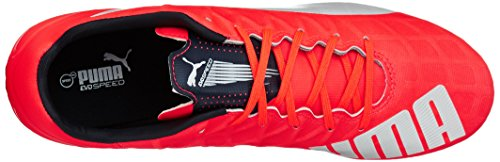 Puma - Evospeed 4.4 Fg, Scarpe Da Calcio da uomo Arancione (Orange (lava blast-white-total eclipse 01))