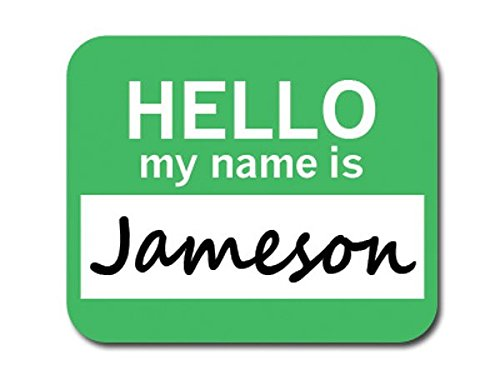graphics-and-more-jameson-hello-my-name-is-mousepad-mouse-pad
