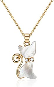 Mestige Women's Gold-Tone Plated Whiskers Pendant Necklace (MSNE3