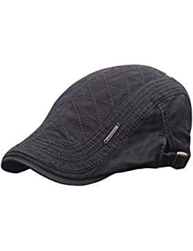 JUNGEN Sombrero unisex de la boina sombrero de moda del sombrero del estilo de Inglaterra sombrero ocasional para...