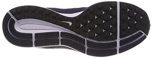 Nike Air Zoom Pegasus 34, Scarpe da Running Uomo Grigio (Obsidian/White/Thunder Blue/Bl 407)
