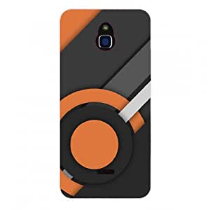 GOON SHOPPING 3D Printed Back Cover For Infocus M 2