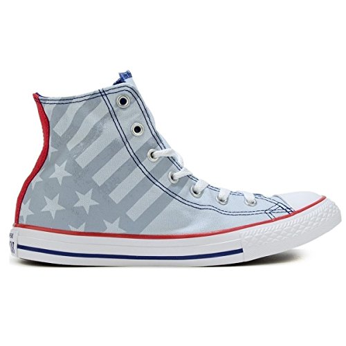 Converse Youth Chuck Taylor All Star Hi Grey Canvas Trainers 38 EU (Converse Youth Schuhe)