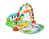 Early Education Soft Musical Activity Gym Play Mat Toy Kick and Play Piano