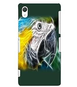 SONY XPERIA Z2 BIRD EYE Back Cover by PRINTSWAG