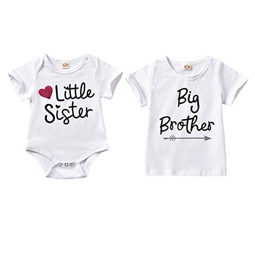 other passende Strampler T-Shirt Kind Baby Boy Girl Bodysuit Outfit Kleidung ()