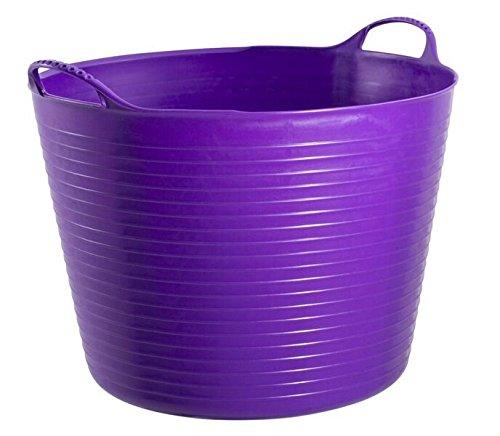 Decco Tubtrug Seau Seau souple, 75 l Grandes Capacité, Plastique, violet, 75L