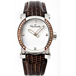 Faconnable Women's Automatic Watch Analogue Display and Leather Strap FDHOB