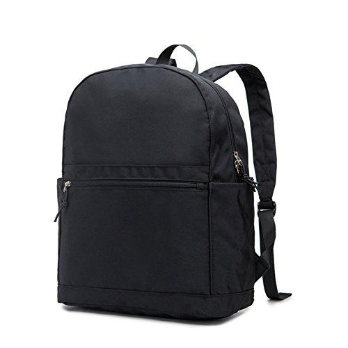 Semplice zaino/borsa per uomini e donne/Zaino stile College/Borsa da viaggio-E E