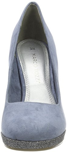 Marco Tozzi 22441, Scarpe con Tacco Donna Blu (Azure Comb)