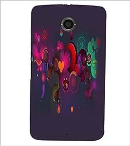 PrintDhaba Pattern D-2159 Back Case Cover for MOTOROLA GOOGLE NEXUS 6 (Multi-Coloured)