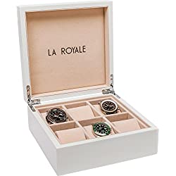 LA ROYALE BIANCO Watch Box