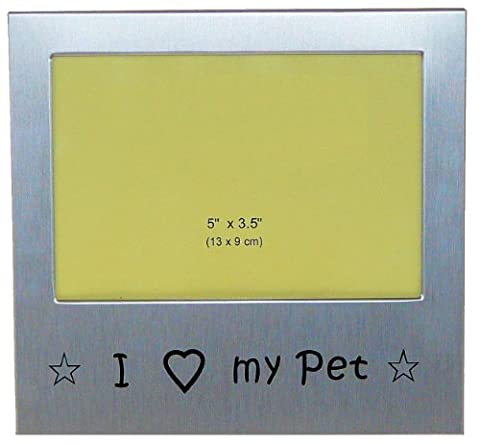 ' I Love My Pet ' - Photo Picture Frame Gift - 5 x 3.5