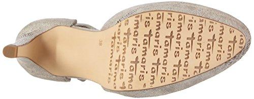 Tamaris - 24431, Scarpe col tacco Donna Grigio (Grau (GREY STRUCTURE 228))