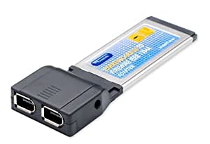 Best Connectivity ExpressCard to Firewire IEEE 1394a Controller Card SD-EXP30012