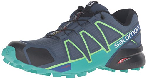 Salomon Damen L39343900 Traillaufschuhe Blau (Slateblue/spa Blue/fresh Green)