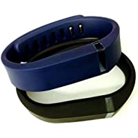 Comparador de precios ! Small S 1pc Black 1pc Navy (Blue) Replacement Bands + 1pc Free Small Grey Band With Clasp for Fitbit FLEX Only /No tracker/ Wireless Activity Bracelet Sport Wristband Fit Bit Flex Bracelet Sport Arm Band Armband - precios baratos