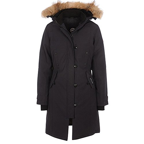 Canada-Goose-Ladies-Kensington-Parka-Jacket-In-Navy