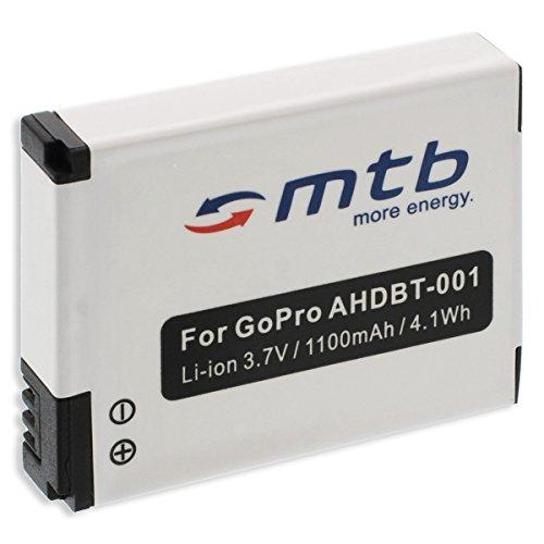 Ersatz-Akku ABPAK-001, AHDBT-001, AHDBT-002 für Gopro Hero / HD Hero / HD Hero 2 Digitale Slr-cam