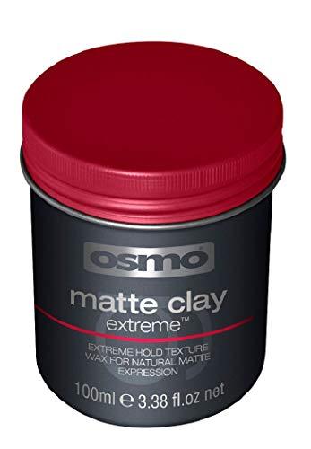 Osmo - Cera para el pelo mate Extreme de alta fijación para moldeado del...