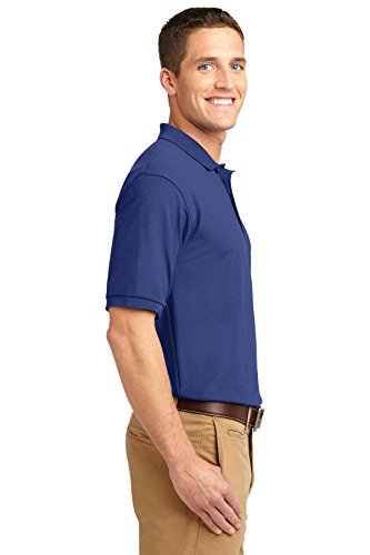 NEW Port Behörde Silk-Touch Sport T-Shirt Harvest Gold, M Mediterranean Blue