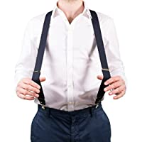 Bretelle da Pantaloni per Uomo - Bretelle Forti e Resistenti