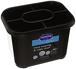 Addis Cutlery Drainers, Soft Black