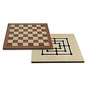 Juego - Chess-Tria, 40 x 40 cm, mesa (ITA Toys JU00403)