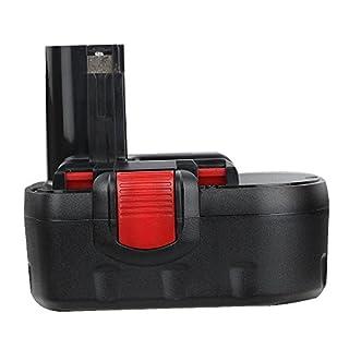 Flylinktech Replacement Bosch 18V 2.0Ah NI-CD Battery for Bosch Drill PSR 18 2607335536 2607335535 2607335277 Bosch 2607335278,Bosch BAT025 BAT026 BAT181 BAT160 BAT189 BAT180 52318 53518 3860K 1644K
