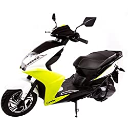 SXT Viper–Patinete eléctrico (con 2000W Buje Motor sin escobillas, 45Kmh, 2plazas–Hasta 60Km Alcance