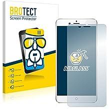 BROTECT AirGlass Protector Pantalla Cristal Flexible Transparente para ZTE Nubia Z17 Mini Protector Cristal Vidrio - Extra-Duro, Ultra-Ligero, Ultra-Claro