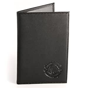 MANCHESTER UNITED LEATHER PASSPORT WALLET