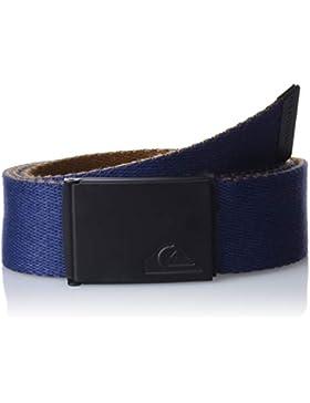 Quiksilver The Jam Cinturón, Hombre, Azul (Medieval Blue BTE0), (Tamaño del fabricante:1SZ)