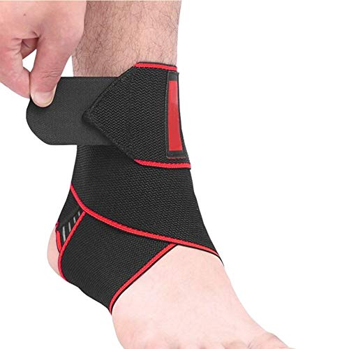 Yudesun Knöchelbandage Sprunggelenkbandage - Sprunggelenk Bandage für Sport wie Fußball, Fitness und Joggen, Kein Umknicken durch Knöchelbandage