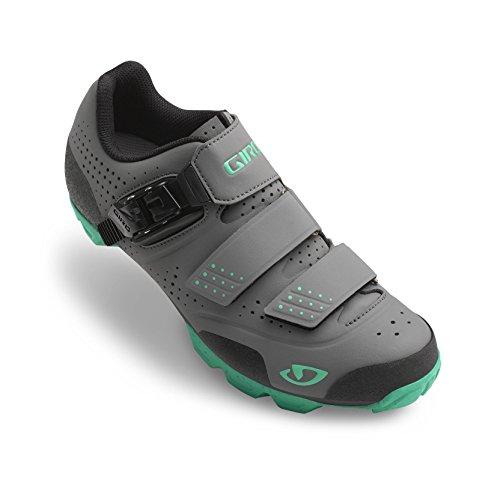 Giro Manta R Damen MTB Schuhe schwarz/türkis 2016
