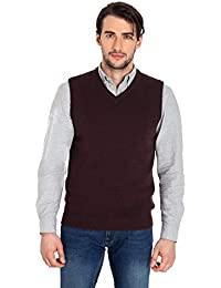 WoolOvers Pull sans manches - Homme - Laine dagneau