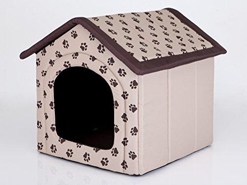 Hobbydog - Casa para Perro, tamaño 4, Color Beige con Patas