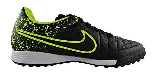 Nike Jungen Jr Tiempo Genio Leather Tf Fußballschuhe Schwarz