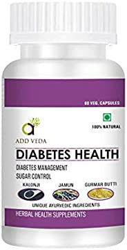 Add Veda Diabetes Health Ayurvedic Pills For Sugar Control & Diab