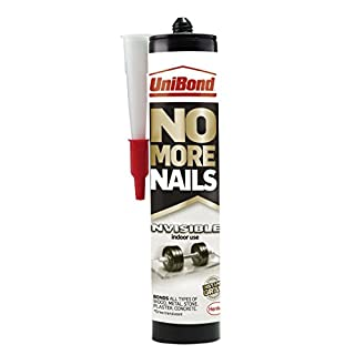UniBond 1963632 285 g No More Nails Invisible Cartridge