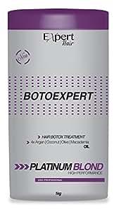 Masque brésilienne des cheveux blonds Botox traitement - Expert Hair