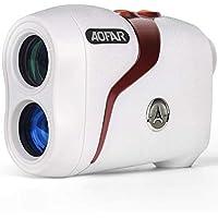 AOFAR GX-3N Telémetro de Golf Flag-Lock con vibración, 800 Metros RangeFinder, 6X 25mm a Prueba de Agua, Estuche de Transporte, Batería Libre Embalaje de Regalo