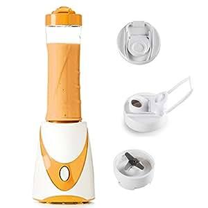 JOLTA appareil à smoothie avec paille oRANGE 2 gO mini blender mixeur blender centrifugeuse et broyeur de glace