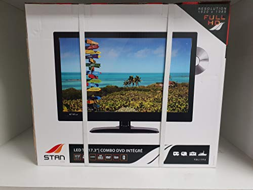 STAN TV 17.3P LED Combo DVD integriert 12/220 V - Tv Dvd Und Combo